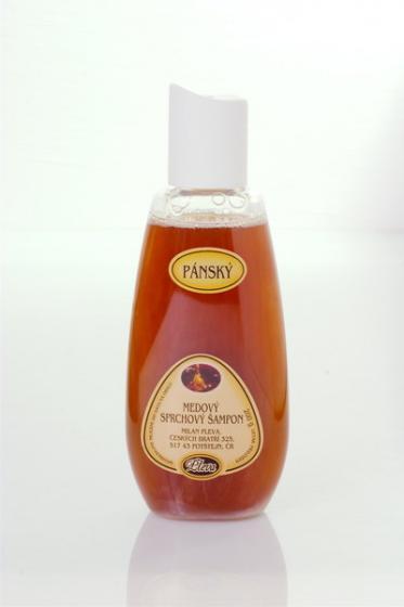 Pánský medový sprchový šampon - Pleva 200 g