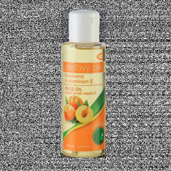 Broskvový olej 100% s přídavkem vitamínu E 100 ml