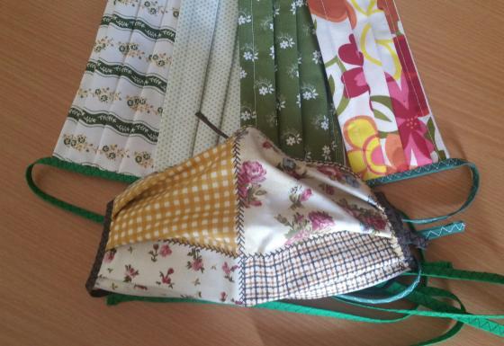 Ochranné rouška textilní 100% bavlna - pro děti